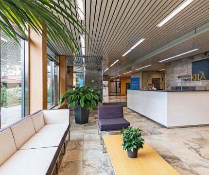 Kiila Business Park toimitilat Oulu Aulapalvelu